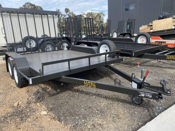 custom black trailer